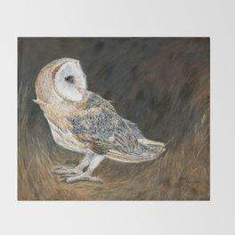 The Night Hunter by Teresa Thompson Throw Blanket