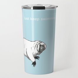 The majestic water bear Travel Mug
