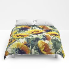 Sunflowers Forever Comforters