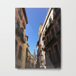 Narrow Streets Metal Print
