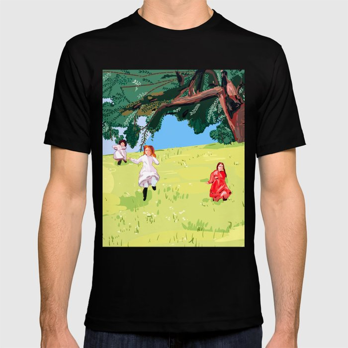 The little house on the prairie with Ingalls sisters T-shirt