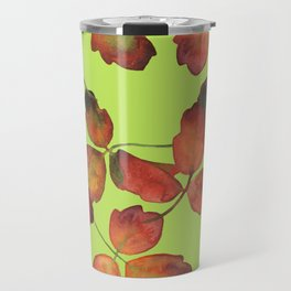 ACID & OAK, pattern by Frank-Joseph Travel Mug