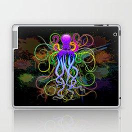 Octopus Psychedelic Luminescence Laptop & iPad Skin
