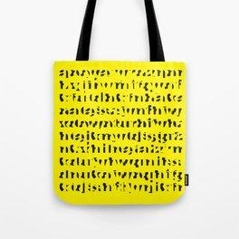 Ancient Script Tote Bag