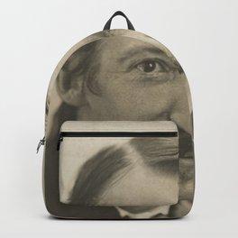 Vintage Robert Louis Stevenson Photo Portrait Backpack