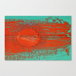 Rising sun Canvas Print