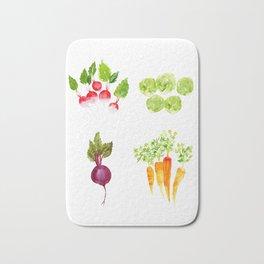 Garden Party - Mixed Veggies Bath Mat