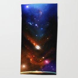 Starfield Beach Towel