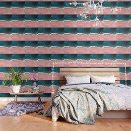 Turquoise Sea Pastel Beach III Wallpaper