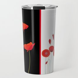 Graceful poppies Travel Mug