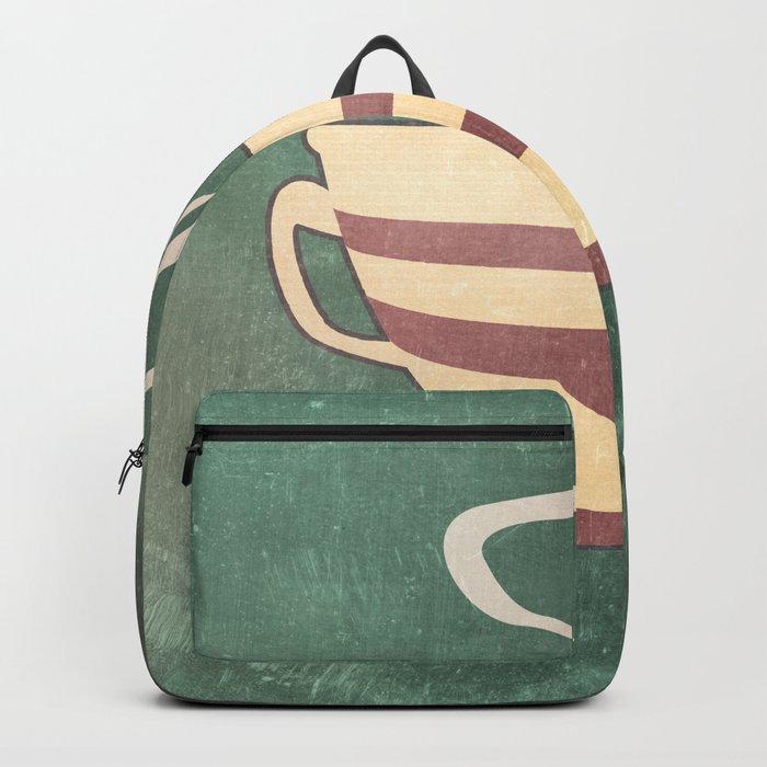 Coffee is love illustration Backpack