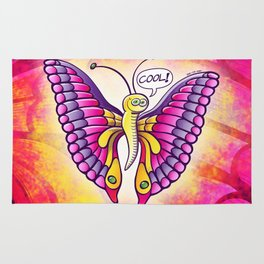 Coolorful Butterfly Rug