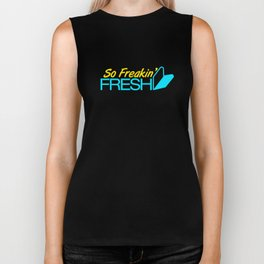 So Freakin' Fresh v3 HQvector Biker Tank