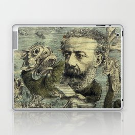 Vintage Jules Verne Periodical Cover Laptop & iPad Skin
