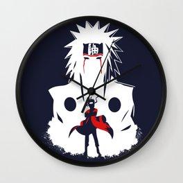 Naruto Shippuden Uchiha Clan Wall Clock