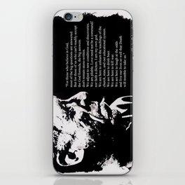 Charles BUKOWSKI - faith quote iPhone Skin
