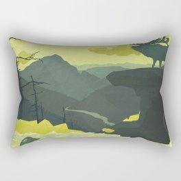 The Abandoned Frontier Rectangular Pillow