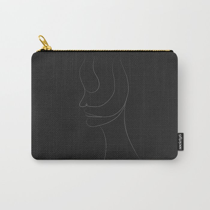 Abstract portrait Carry-All Pouch