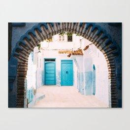 THE BLUE VILLAGE Canvas Print