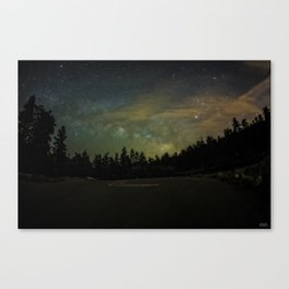 Early Summers Night Canvas Print