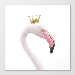 Flamingo Queen Canvas Print