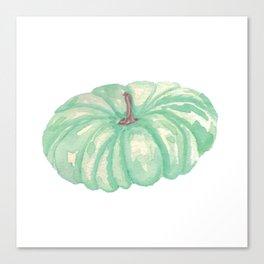 Teal Pumpkin Canvas Print
