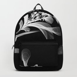 City Chic Abstract Flowers Backpack
