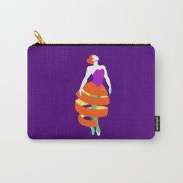 Orange peel ballerina dance Carry-All Pouch