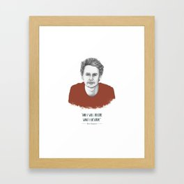 "Ben Howard ""The Fear"" Framed Art Print"