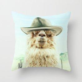 JOE BULLET Throw Pillow