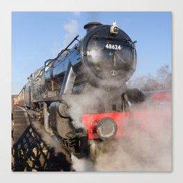 48624 Steam locomotive Canvas Print