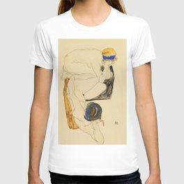 """Egon Schiele """"Zwei Liegende Figuren"""" T-shirt"""