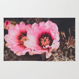 Faded Desert Blooms Rug