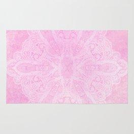 light pink mandala Rug