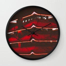 Peace/Darkness Wall Clock
