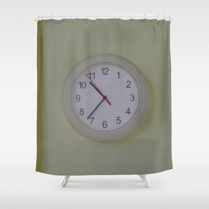Watch Shower Curtain