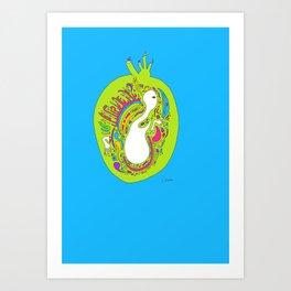 BIRTH ∞ Art Print