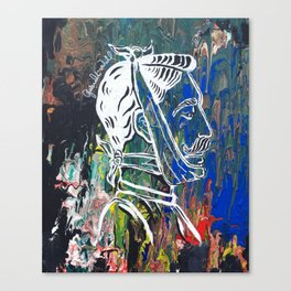 Toothache Canvas Print