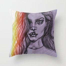 VS Model Throw Pillow