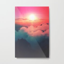 Ultra Lights Beams Metal Print