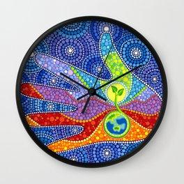 Earth Keeper Wall Clock