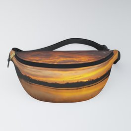 Fire Clouds Fanny Pack