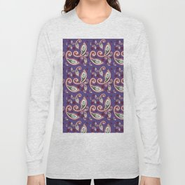 Oriental ornament purple . ( https://society6.com/simpledoodles/collection) Long Sleeve T-shirt
