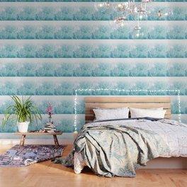 Sea Dream Marble - Aqua and blues Wallpaper