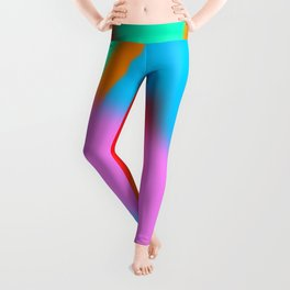Digital landscape 1 Leggings