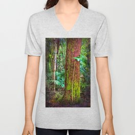 New and old rainforest growth Unisex V-Neck