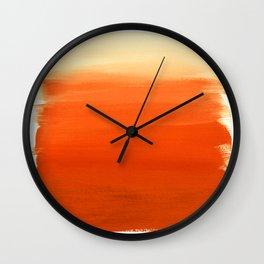 Oranges No. 1 Wall Clock