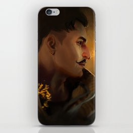 fire starter iPhone Skin