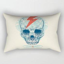 Skull Bolt Rectangular Pillow