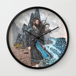 Njord Lord of the tides Wall Clock